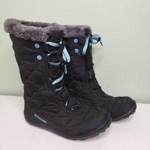 COLUMBIA Omni Heat Waterproof Snow Boots SIZE 3